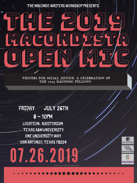 Macondistas Open Mic Reading!